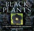 Black Plants by Paul Bonine. Photo ©Timber Press