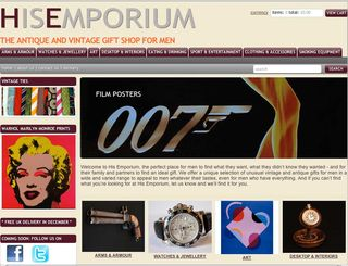 His Emporium: Offering Vintage and Antique Gifts for Men. Image © His Emporium